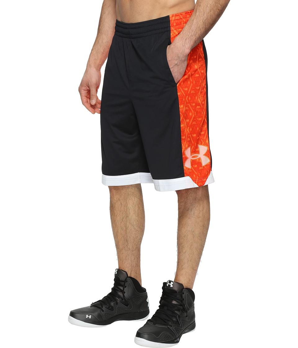 Under Armour - UA Isolation 11 Shorts (Black/Phoenix Fire) Men's Shorts