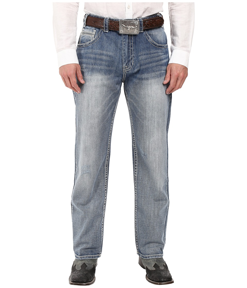 Rock and Roll Cowboy - Tuf Cooper Jeans in Light Wash M0T8545 (Light Wash) Men's Jeans