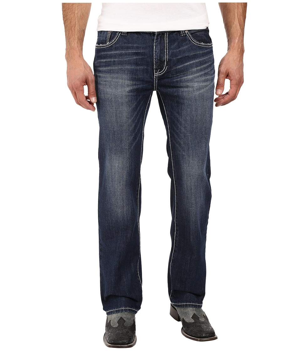 Rock and Roll Cowboy - Pistol Straight Leg in Medium Vintage M1P8555 (Medium Vintage) Men's Jeans