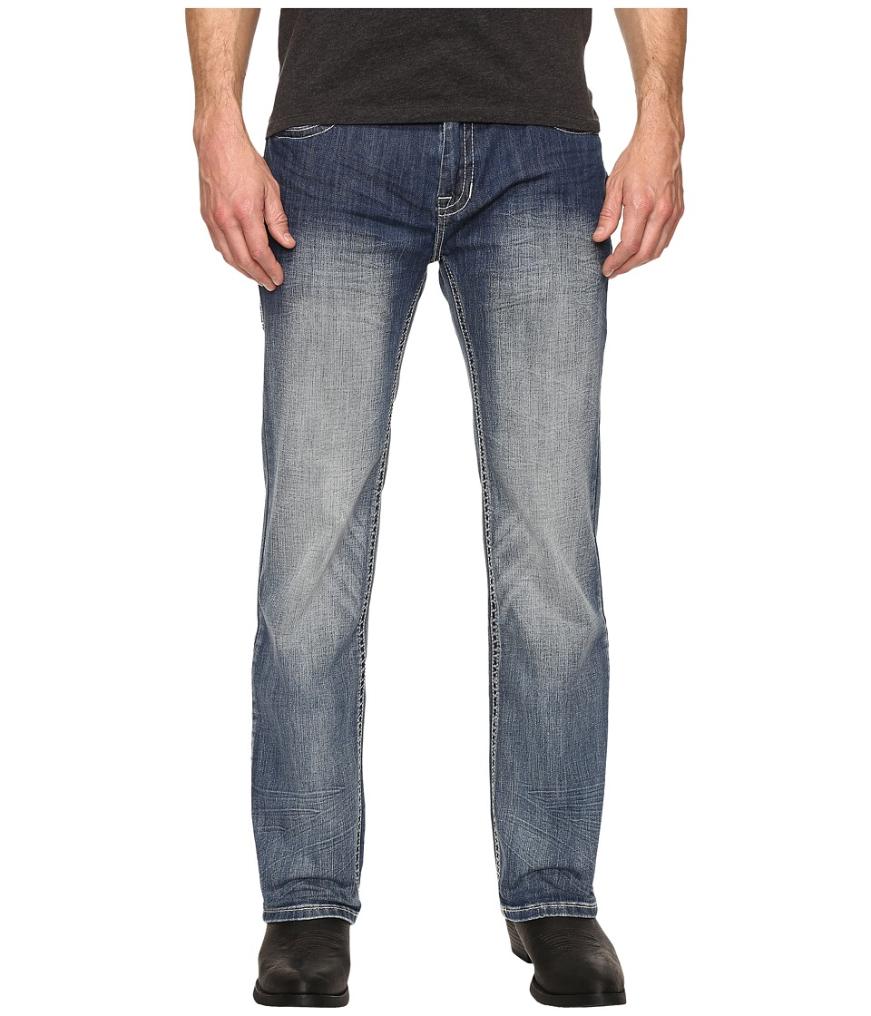 Rock and Roll Cowboy - Flex Pistol in Medium Vintage M1P8558 (Medium Vintage) Men's Jeans