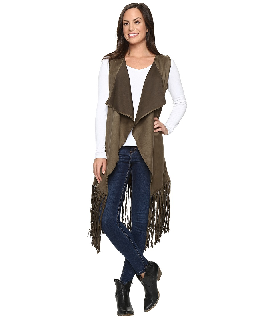 Rock and Roll Cowgirl - Vest 49V8733 (Olive) Women's Vest