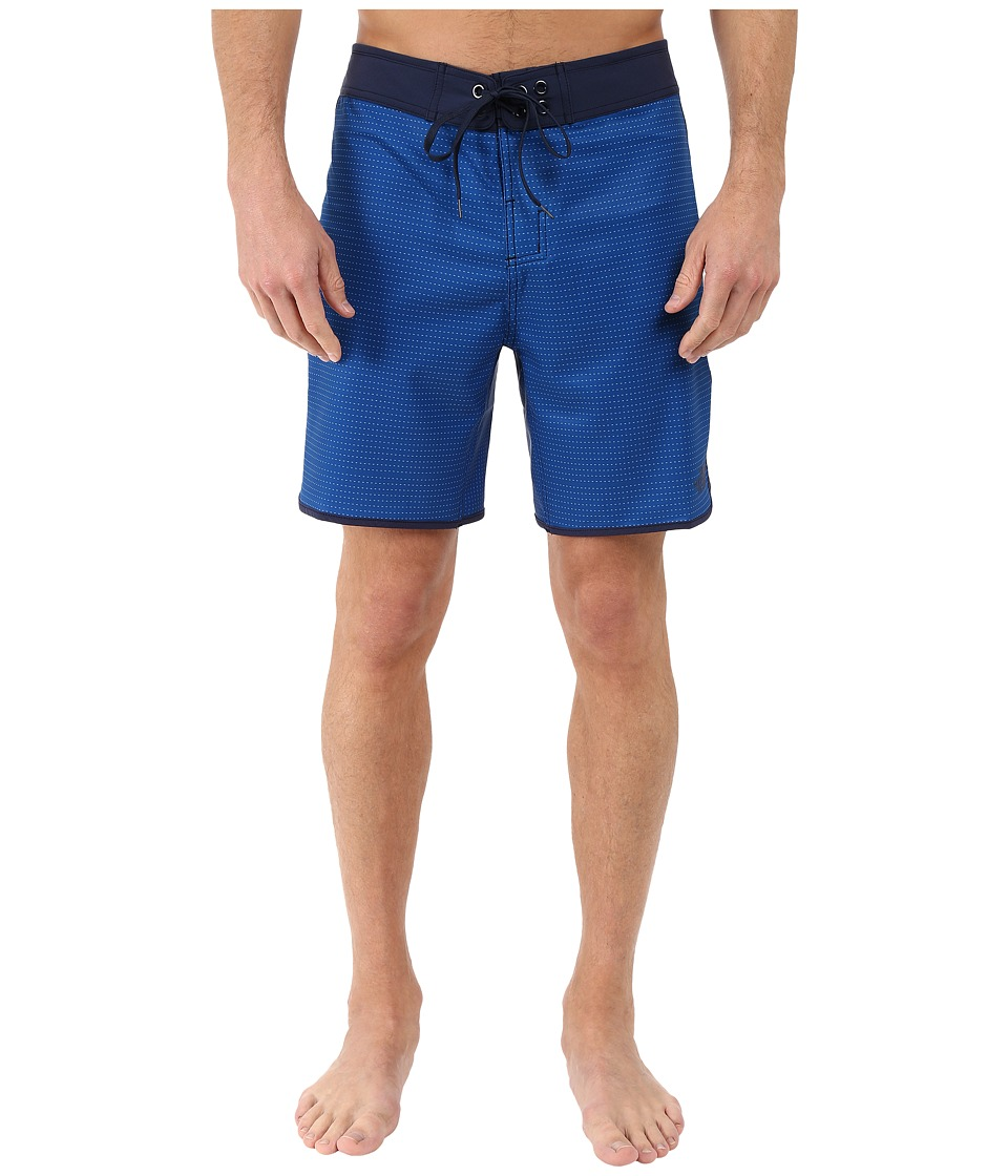 The North Face - Whitecap Boardshorts - Short (Limoges Blue Dash Stripe) Men's Swimwear