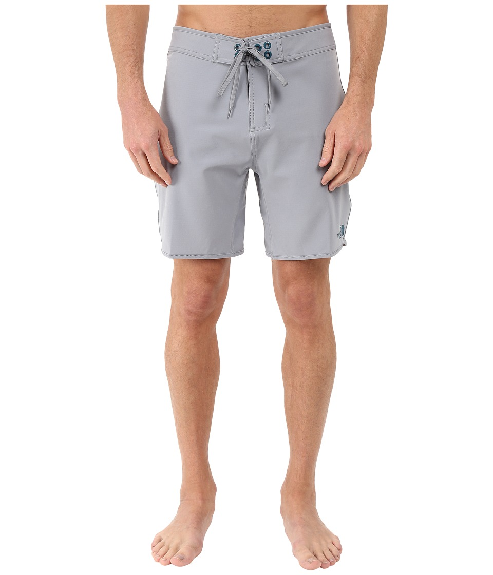 The North Face - Whitecap Boardshorts - Short (Mid Grey) Men's Swimwear
