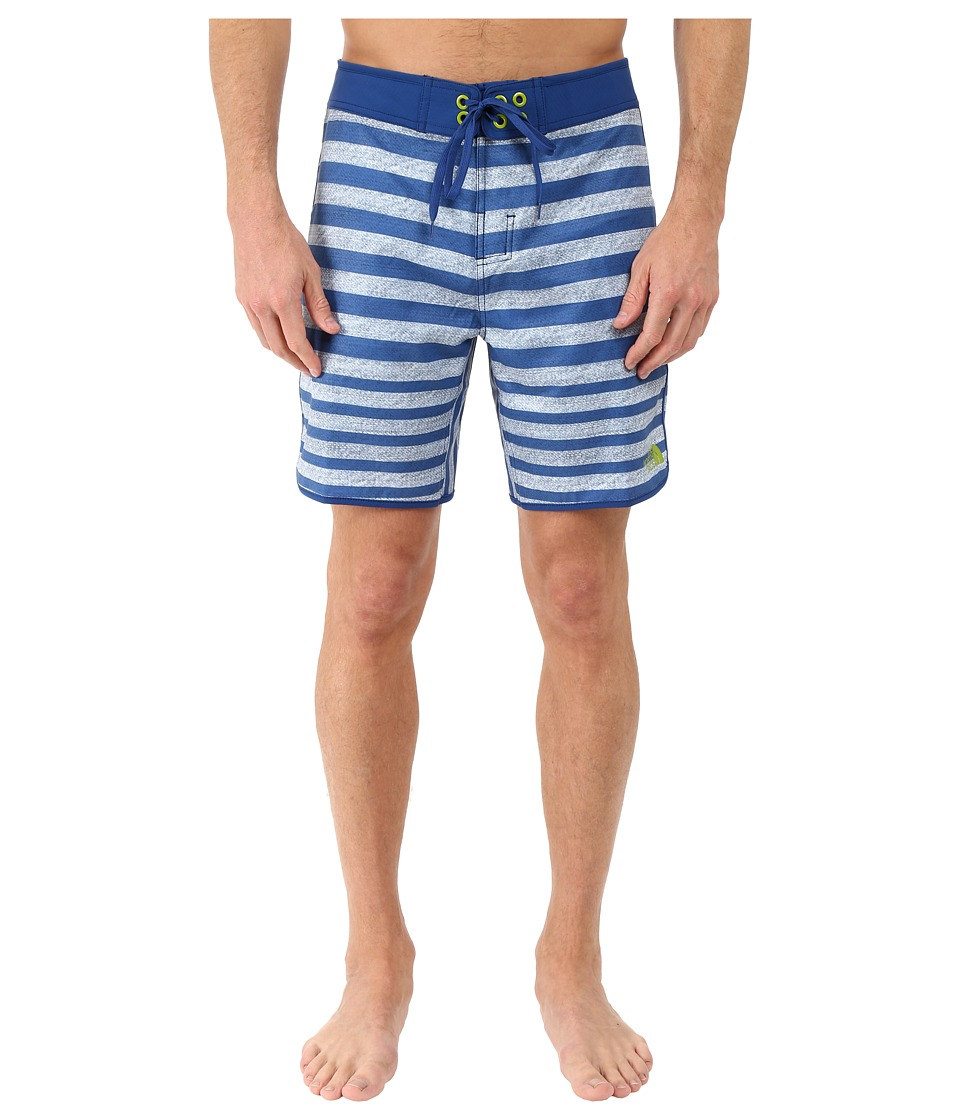 The North Face Whitecap Boardshorts Short (Limoges Blue Chambray Stripe (Prior Season)) Men