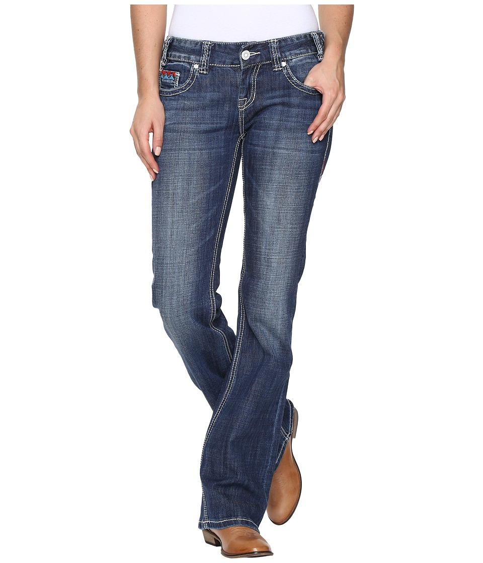 Rock and Roll Cowgirl - Low Rise Bootcut in Medium Vintage W0-8462 (Medium Vintage) Women's Jeans