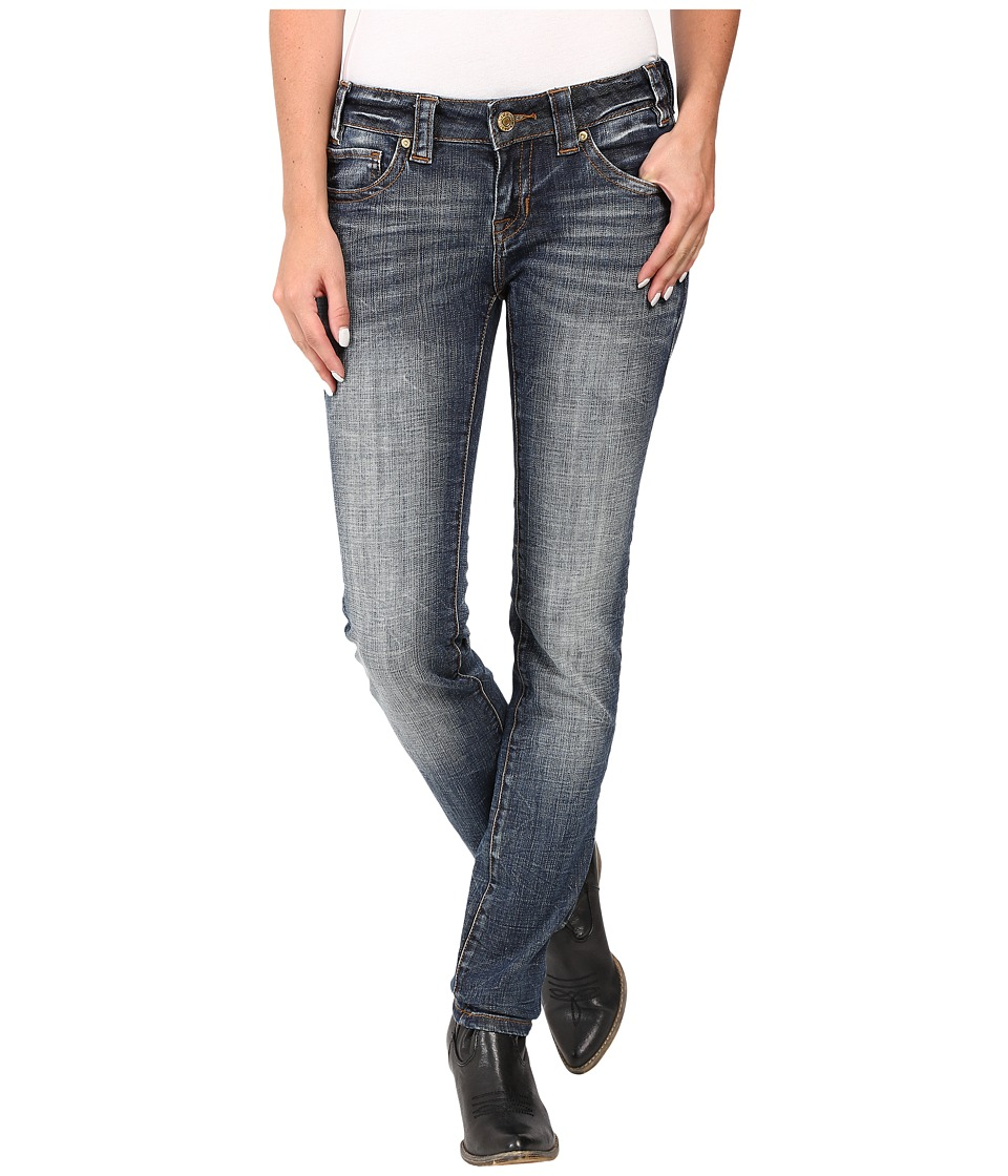 Rock and Roll Cowgirl - Low Rise Skinny in Dark Vintage W0S8470 (Dark Vintage) Women's Jeans