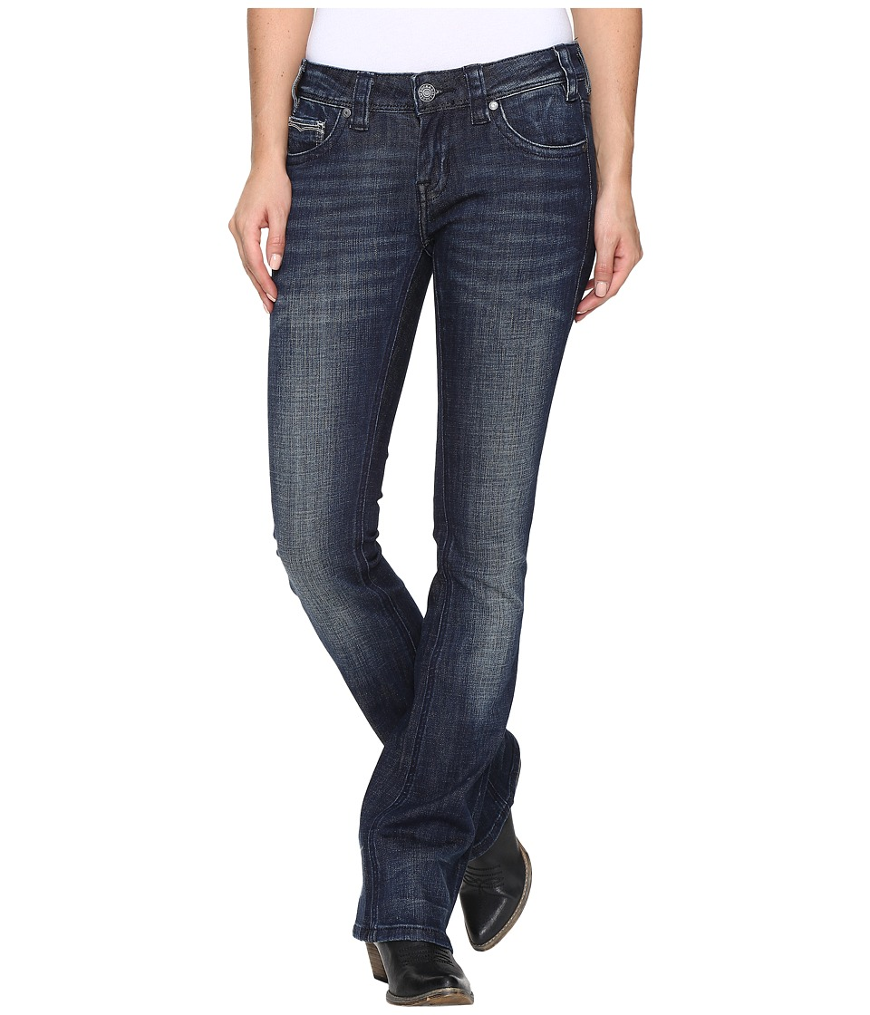 Rock and Roll Cowgirl - Rival Bootcut in Dark Wash W6-8466 (Dark Wash) Women's Jeans