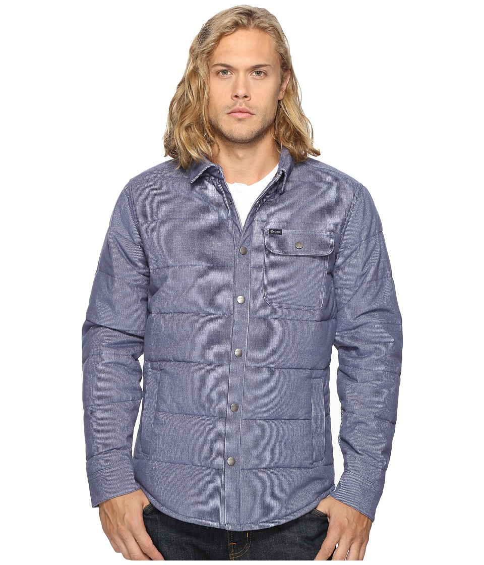 Brixton - Cass Jacket (Light Blue) Men's Jacket