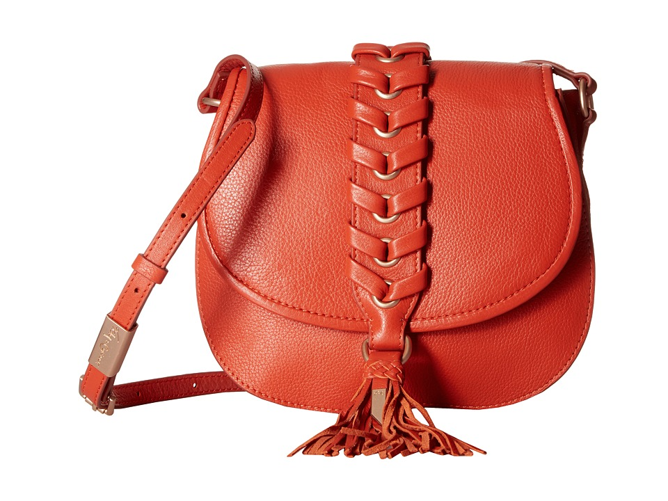 Foley & Corinna - La Trenza Saddle Bag (Papaya) Bags