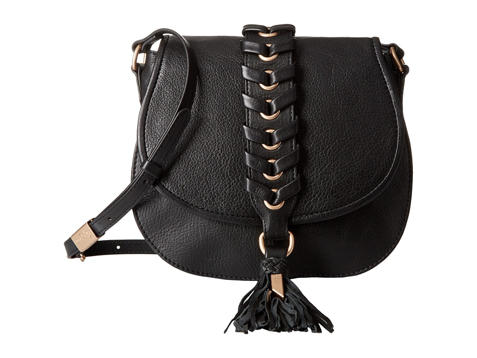 Foley & Corinna - La Trenza Saddle Bag (Black) Bags