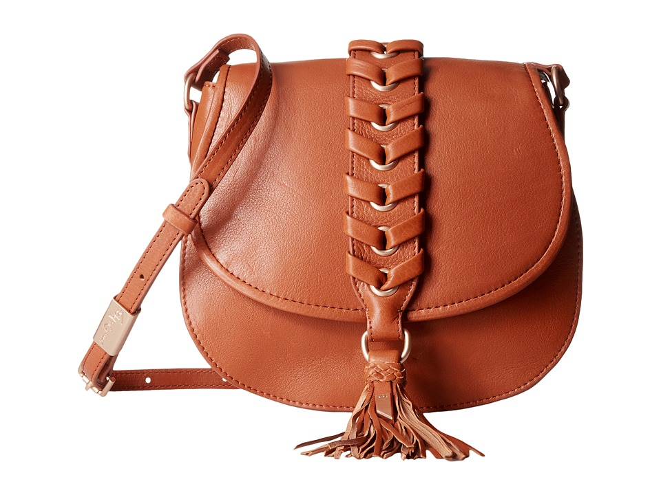 Foley & Corinna - La Trenza Saddle Bag (Honey Brown) Bags