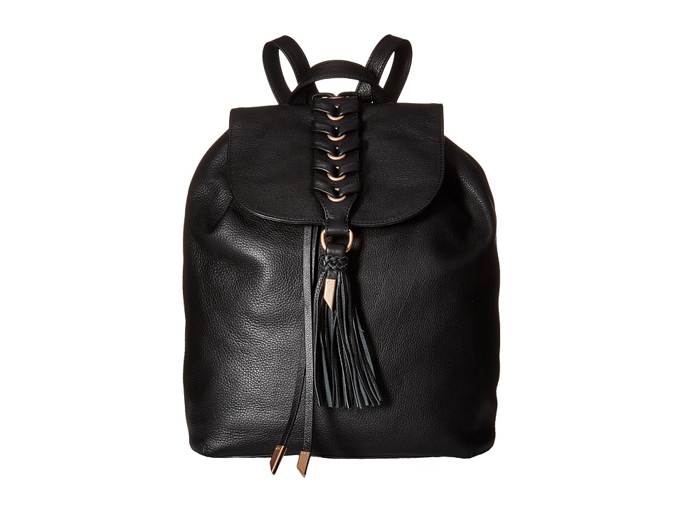 Foley & Corinna - La Trenza Backpack (Black) Backpack Bags