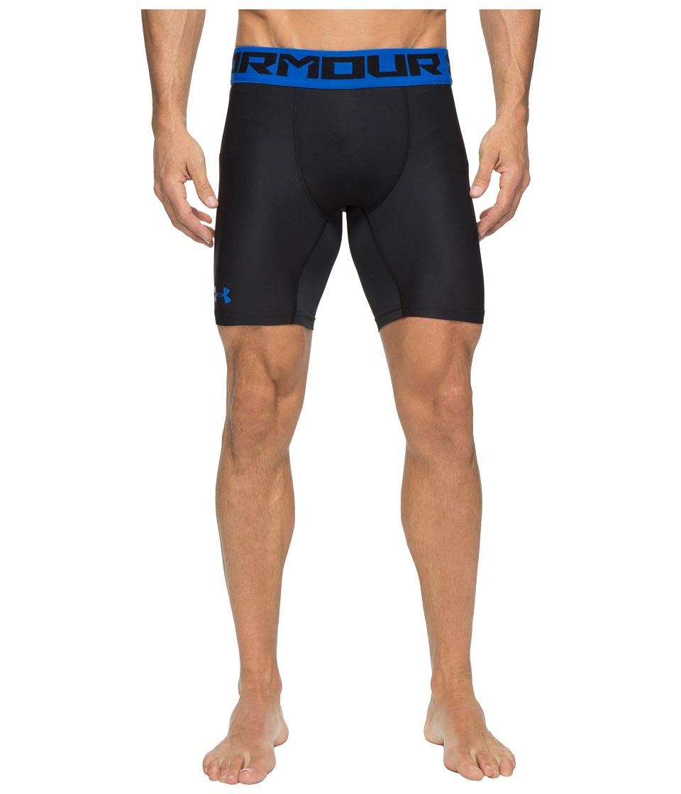 Under Armour - Heatgear Armour 2.0 Compression Shorts (Black 1) Men's Shorts