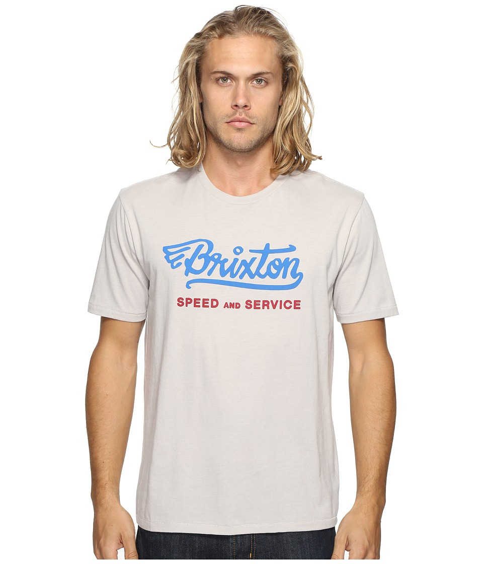 Brixton - Mach Short Sleeve Premium Tee (Stone) Men's T Shirt