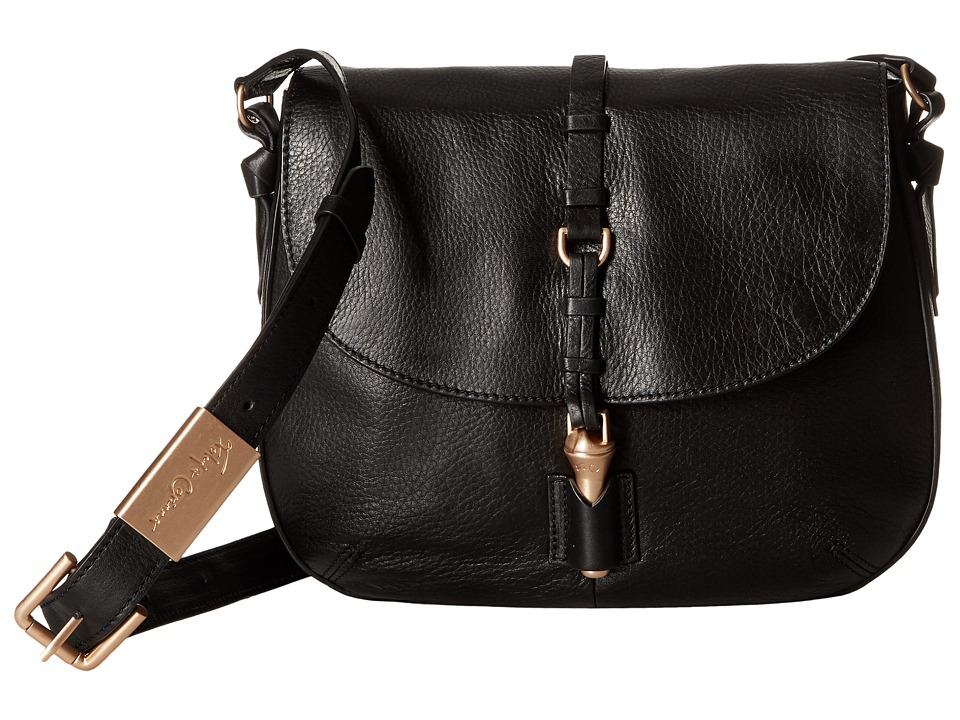 Foley & Corinna - Lea Saddle Bag (Black) Handbags