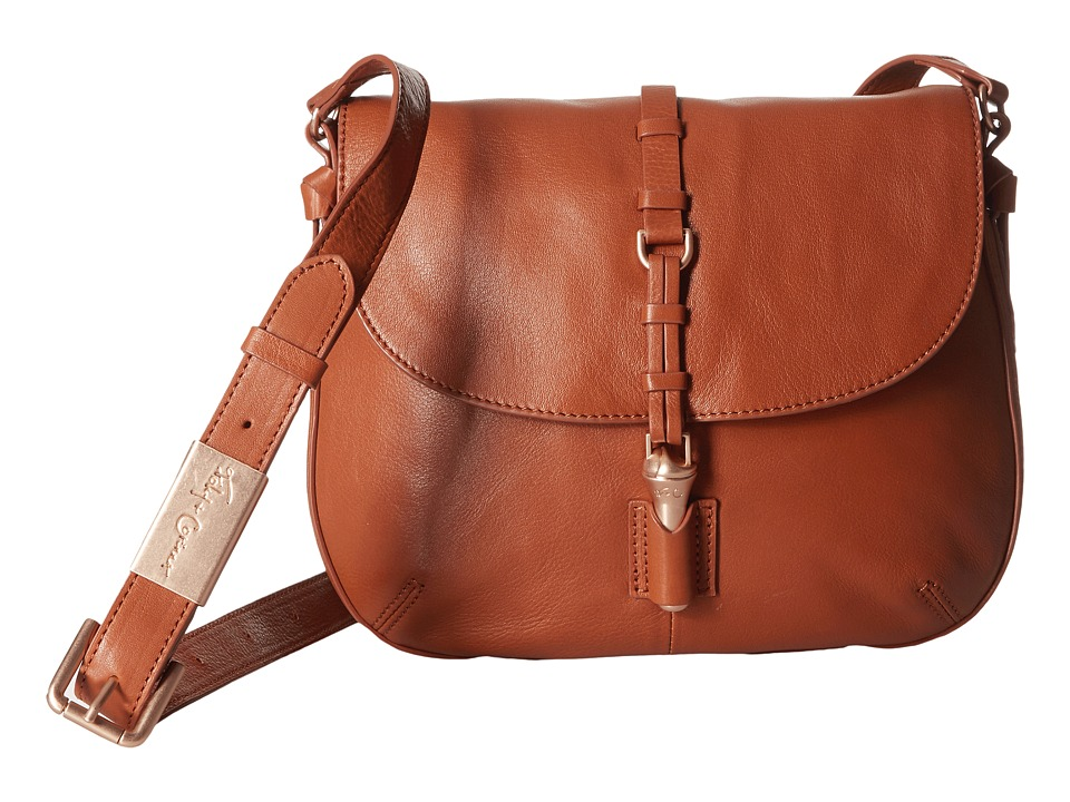 Foley & Corinna - Lea Saddle Bag (Honey) Handbags