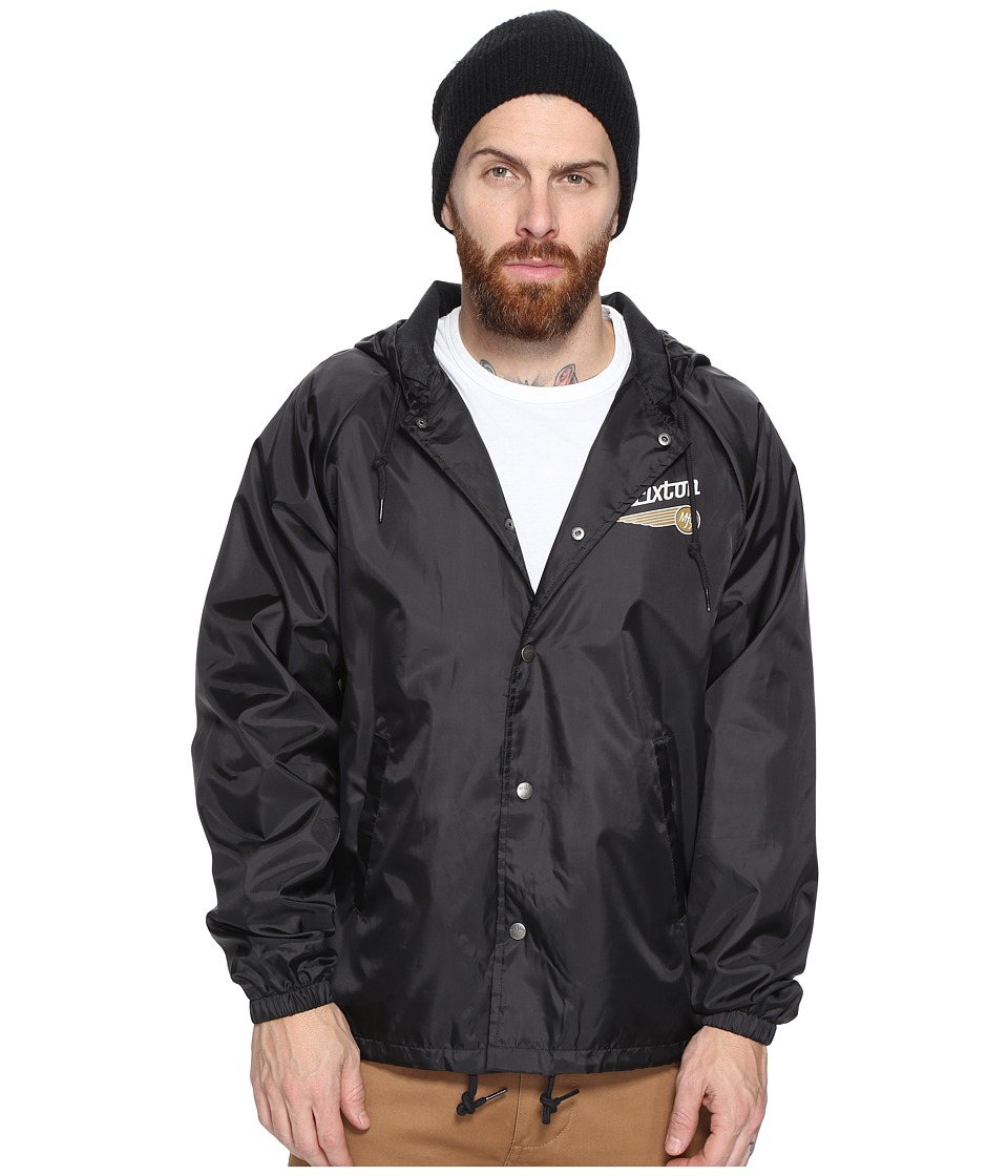 Brixton - Maverick Jacket (Black) Men's Coat