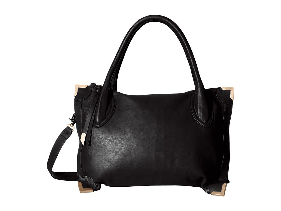 Foley & Corinna - Frame Satchel (Black 1) Satchel Handbags