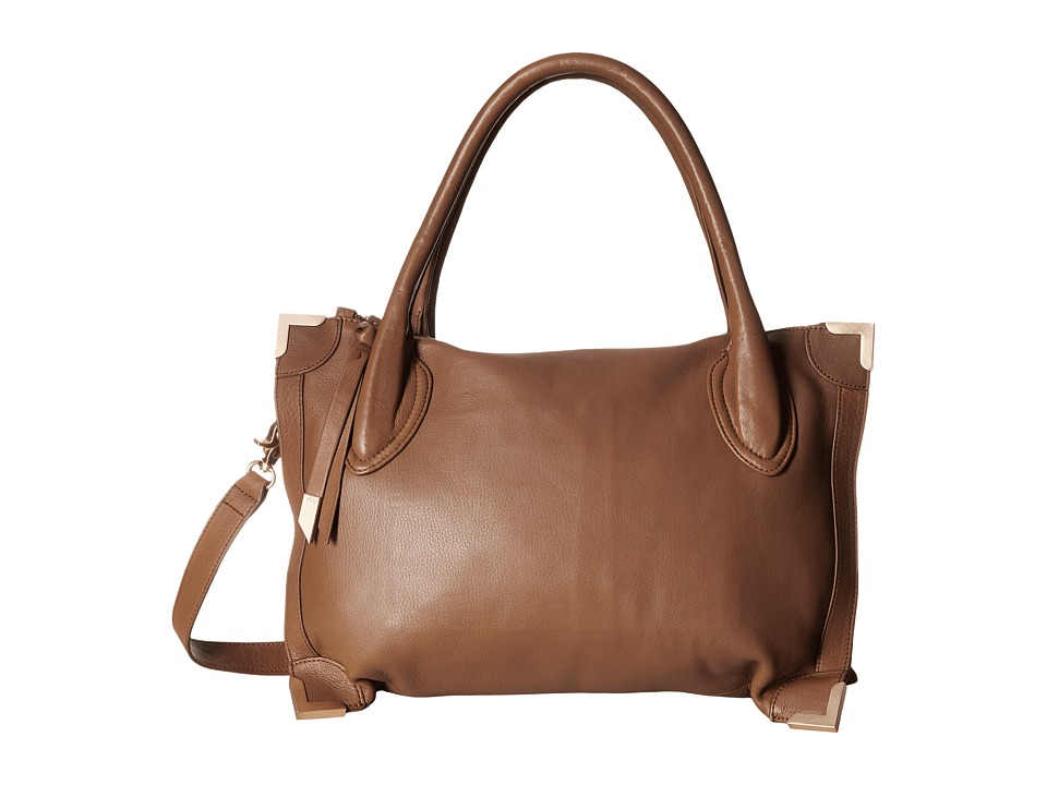 Foley & Corinna - Frame Satchel (Chestnut) Satchel Handbags