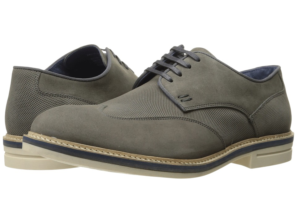 Kenneth Cole Reaction - Pep Ur Step (Grey) Men's Lace up casual Shoes