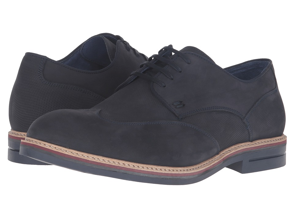 Kenneth Cole Reaction - Pep Ur Step (Navy) Men's Lace up casual Shoes