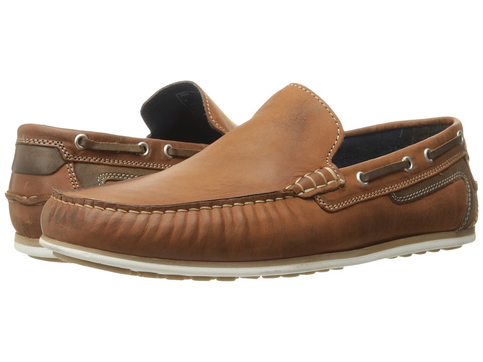 Kenneth Cole Reaction - Game Changer (Cognac) Men's Slip on Shoes