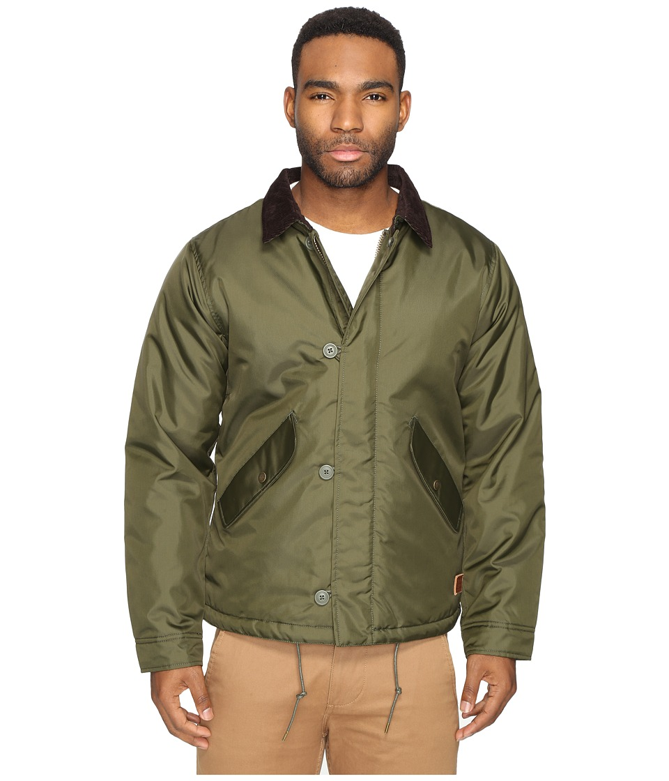 Brixton - Pinnacle Jacket (Olive) Men's Coat