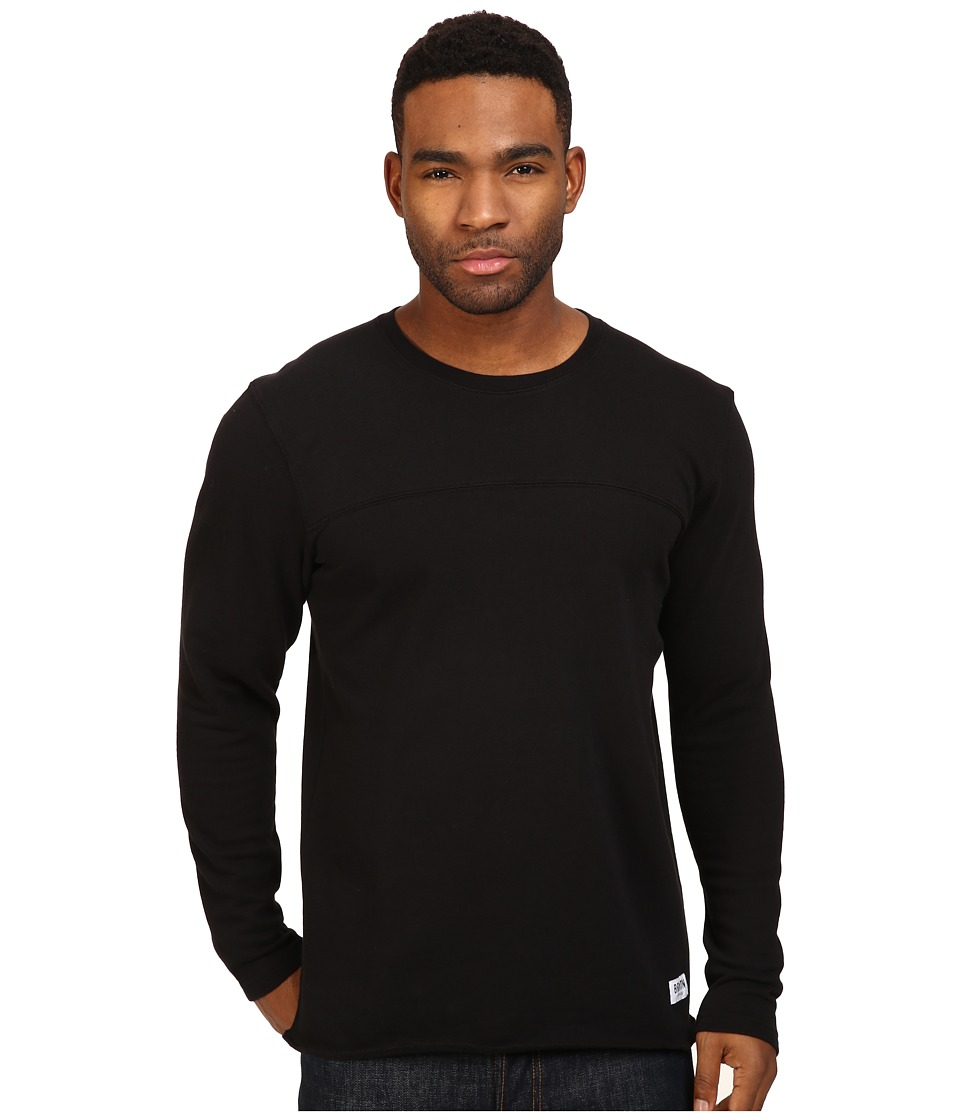 Brixton - Pittsburgh Crew Fleece (Black) Men's Fleece