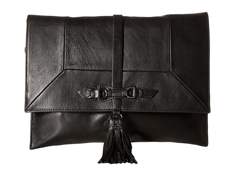 Foley & Corinna - Bo Convertible Clutch (Black) Clutch Handbags
