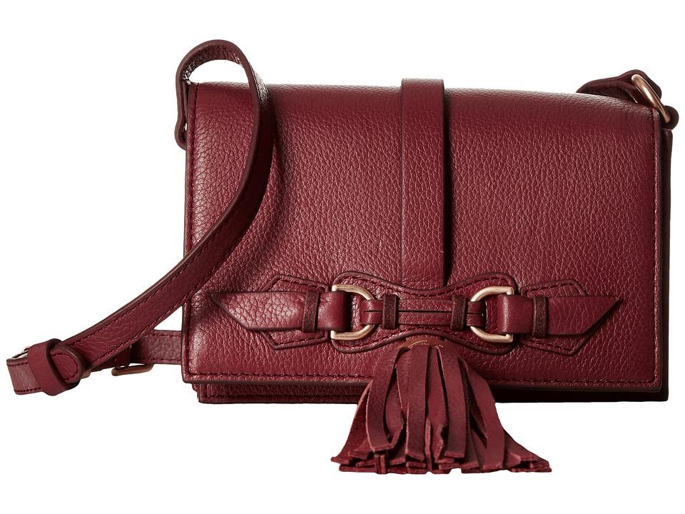 Foley & Corinna - Bo Crossbody (Bordeaux) Cross Body Handbags