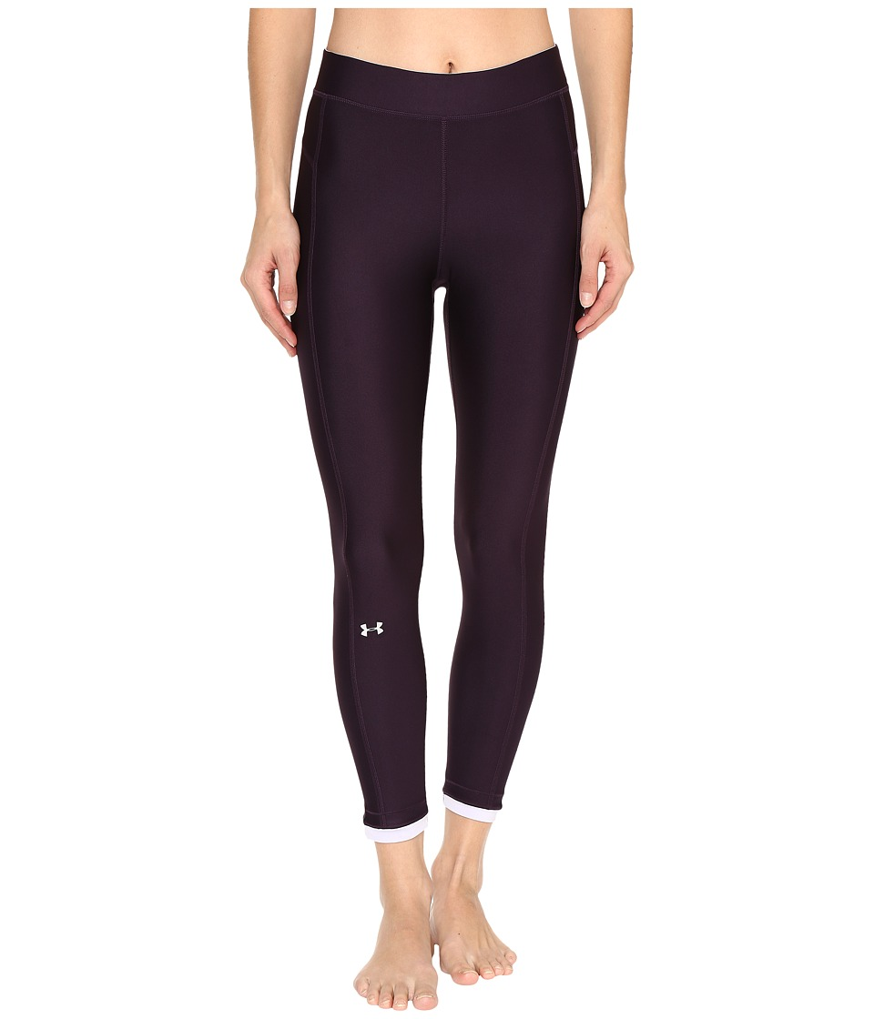 Under Armour - HG Armour Ankle Crop Pants (Imperial Purple/Lavender Ice) Women's Workout