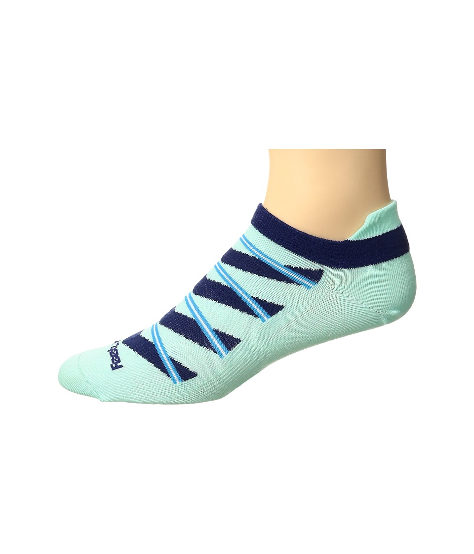 Feetures - High Performance Ultra Light No Show Tab 3-Pair Pack (Mint Pattern) No Show Socks Shoes