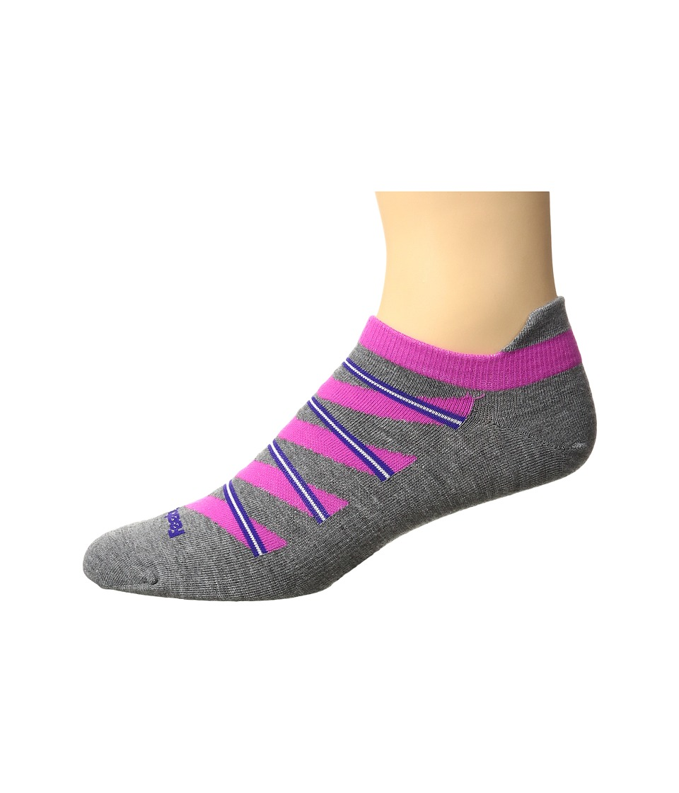 Feetures - High Performance Ultra Light No Show Tab 3-Pair Pack (Heather Gray Pattern) No Show Socks Shoes