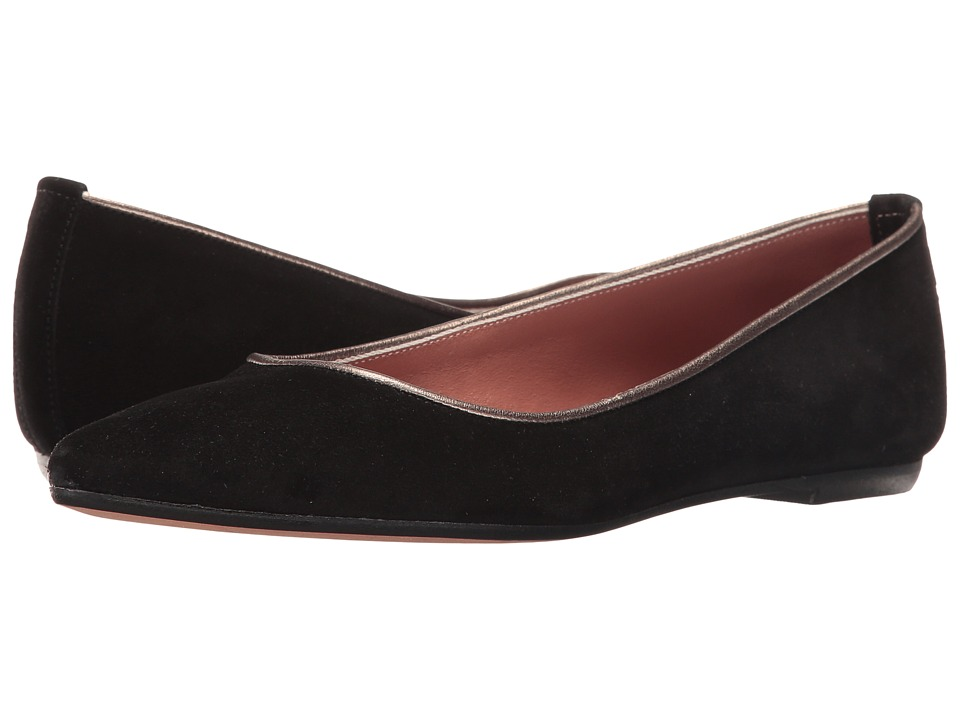 Summit by White Mountain - Kamora (Black Suede) Women's Flat Shoes