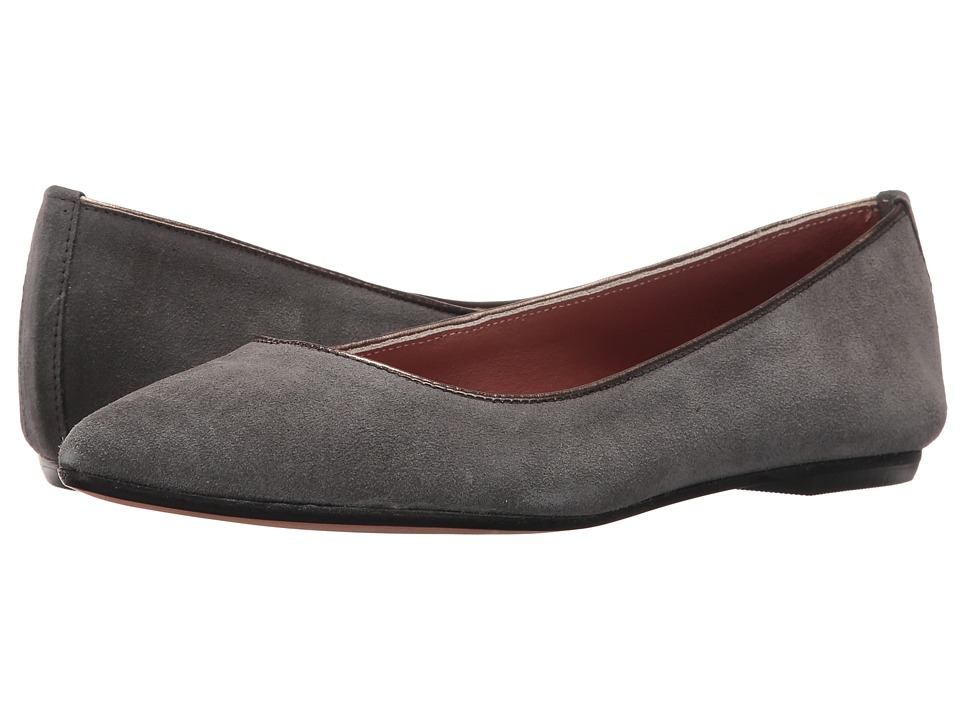 Summit by White Mountain - Kamora (Grey Suede) Women's Flat Shoes