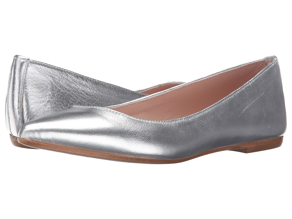 Summit by White Mountain - Kamora (Silver Metallic Leather) Women's Flat Shoes