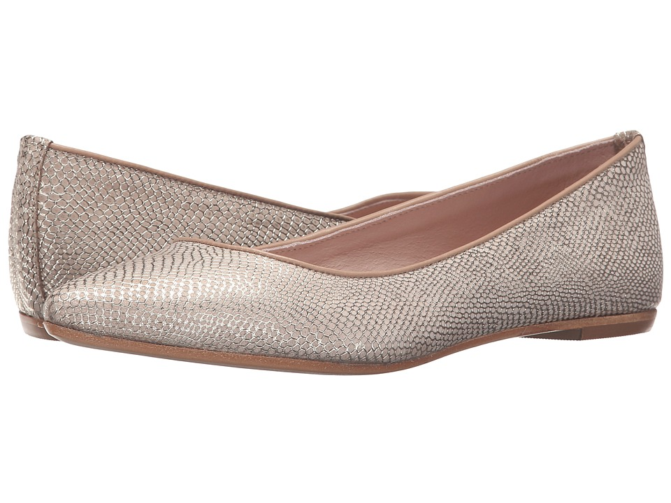 Summit by White Mountain - Kamora (Light Gold Exotic Leather) Women's Flat Shoes