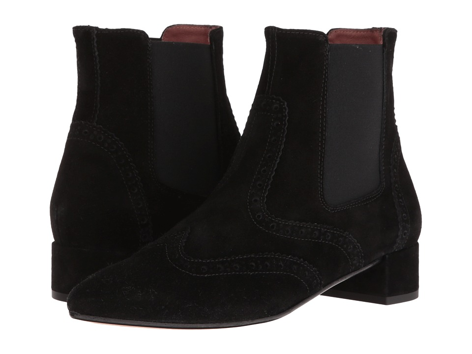 Summit by White Mountain Adella (Black Suede) Women