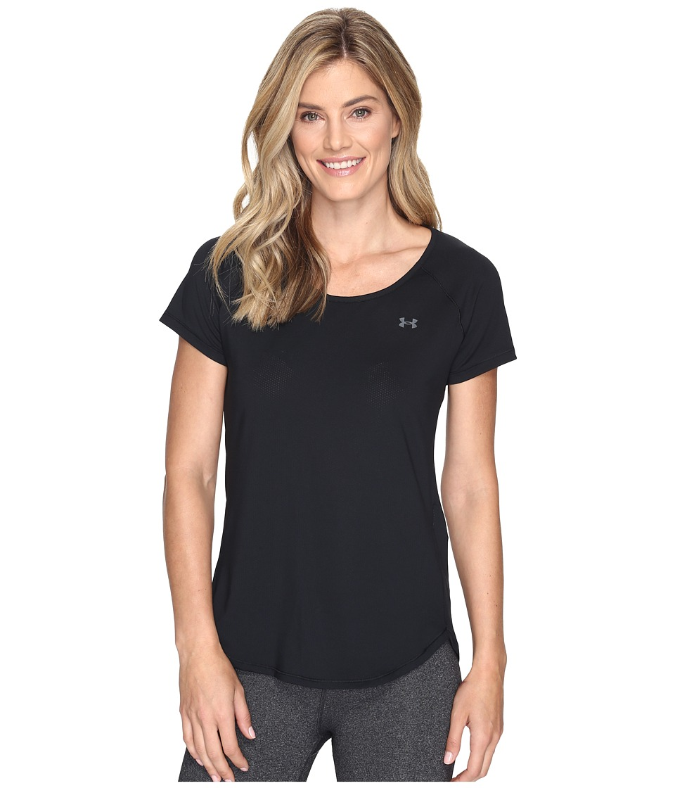 Under Armour UA HeatGear(r) Armour Coolswitch Short Sleeve (Black) Women
