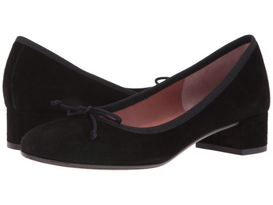 Summit by White Mountain - Mariela (Black Suede) Women's 1-2 inch heel Shoes