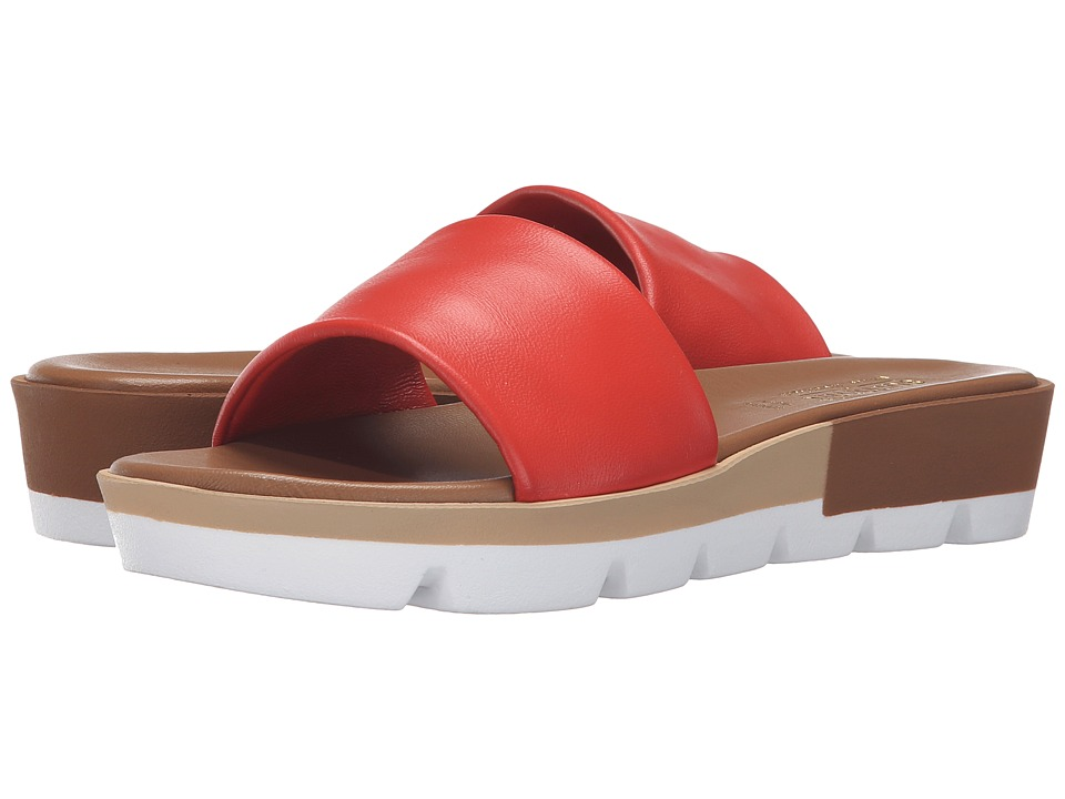 Summit by White Mountain - Faye (Coral Leather) Women's Sandals