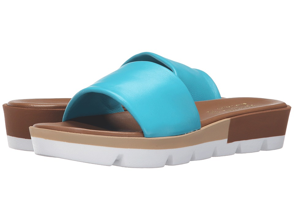 Summit by White Mountain - Faye (Turquoise Leather) Women's Sandals