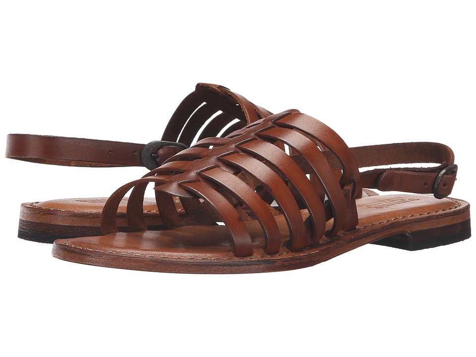 Summit by White Mountain - Elanna (Cognac Leather) Women's Sandals