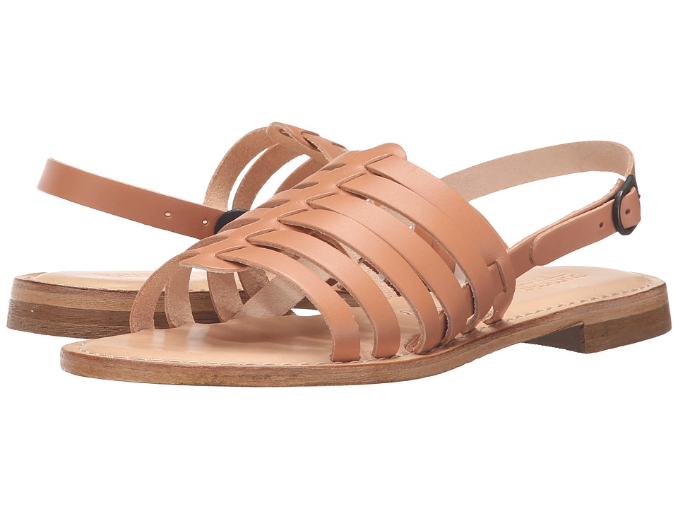 Summit by White Mountain - Elanna (Natural Leather) Women's Sandals