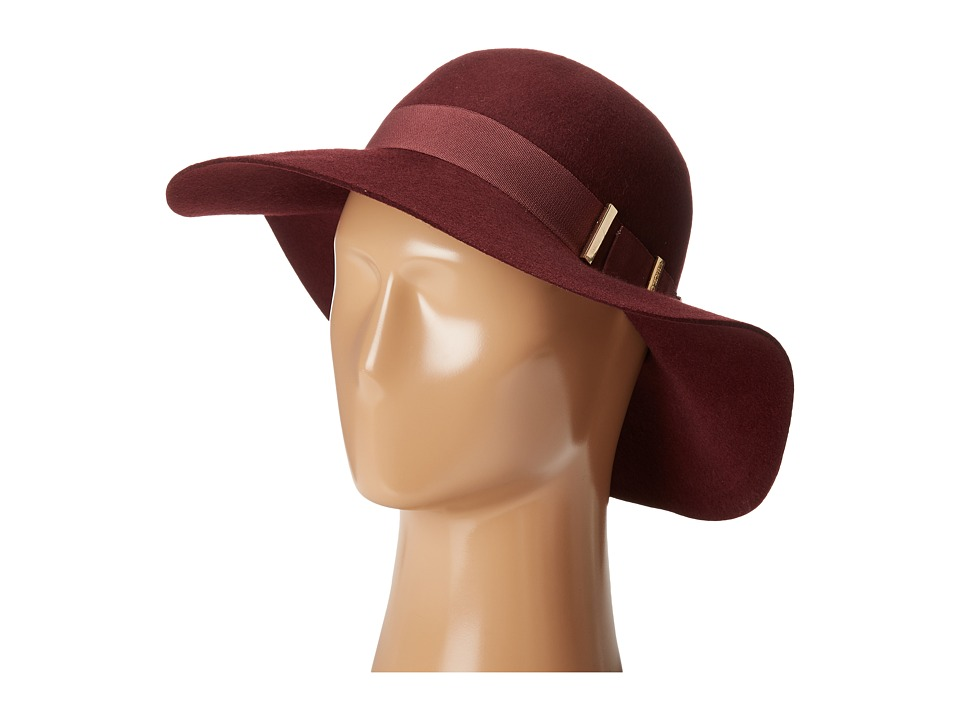 Vince Camuto - Bow Floppy (Wine) Caps