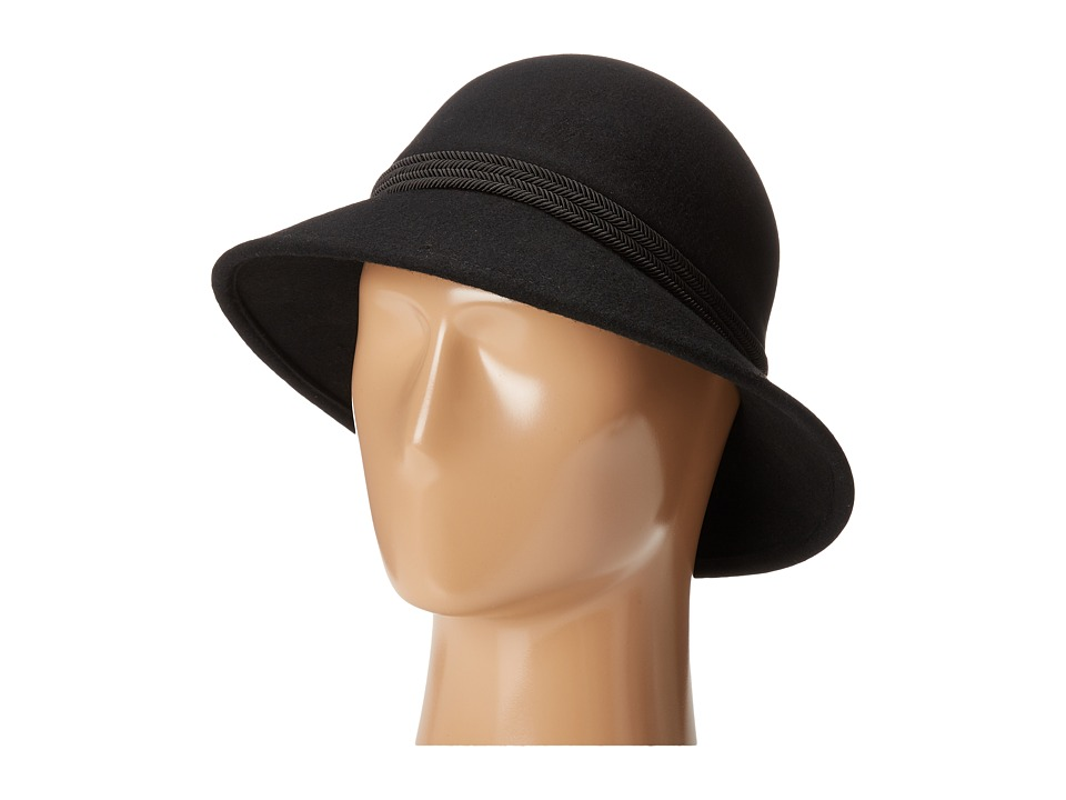 Vince Camuto - Corded Cloche (Black) Caps