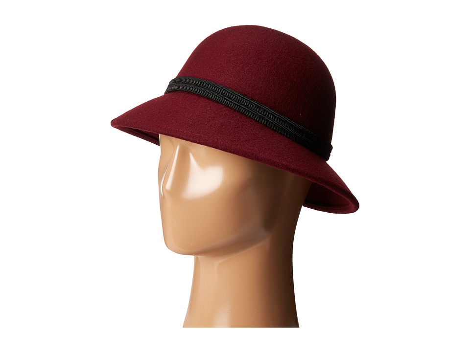 Vince Camuto - Corded Cloche (Wine) Caps
