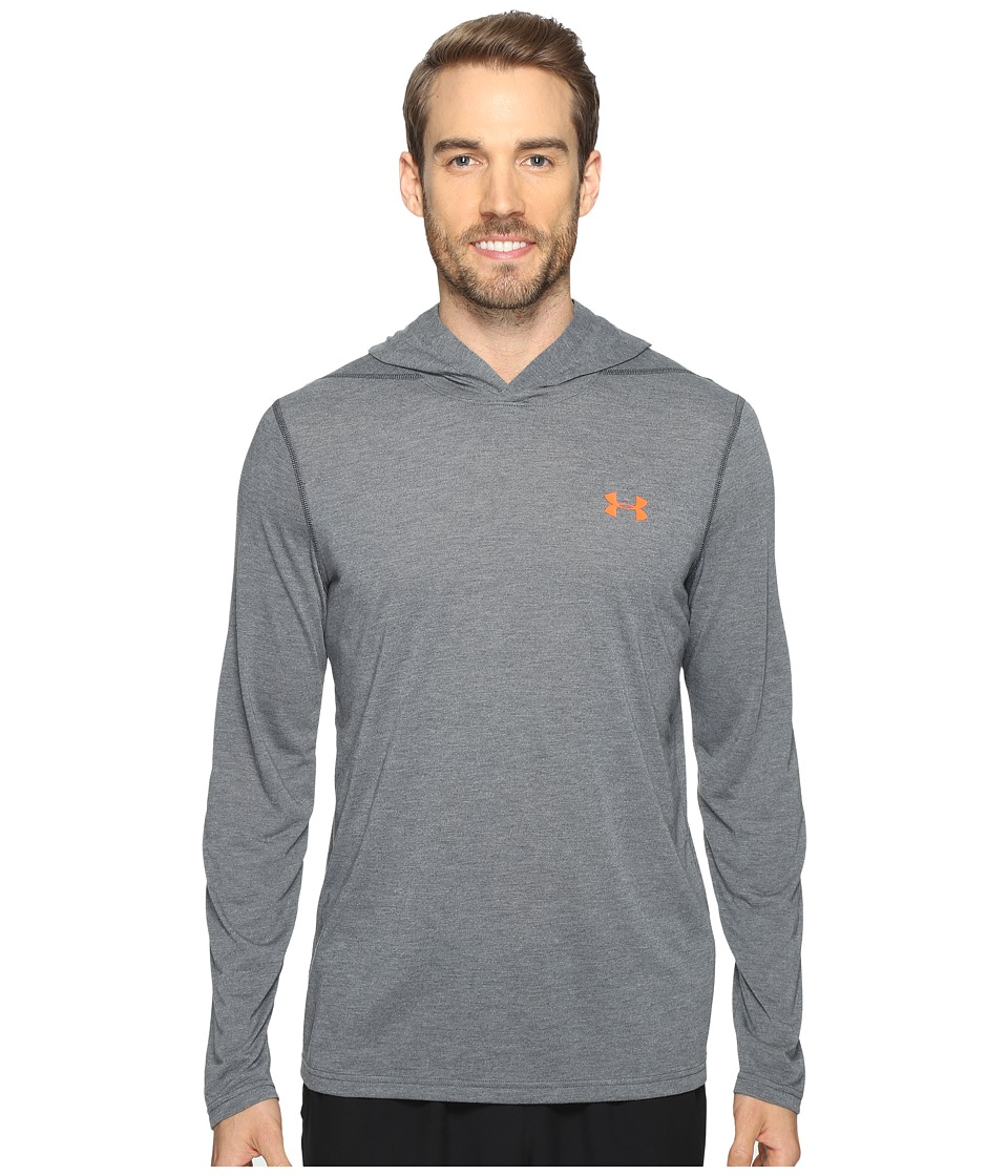 Under Armour - UA Threadborne Hoodie (Stealth Gray) Men's Sweatshirt