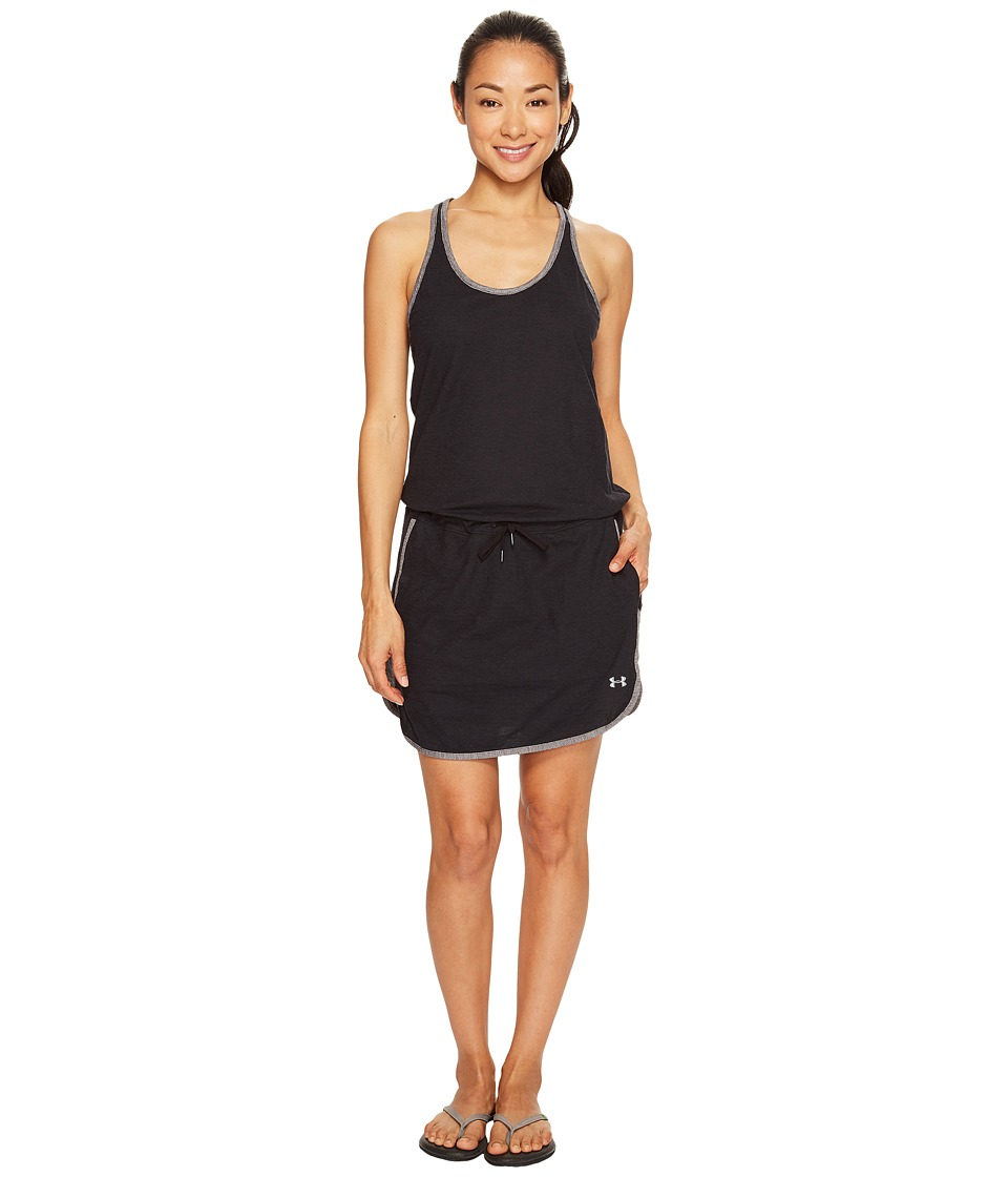 Under Armour - Fashlete Dress (Black/Carbon Heather) Women's Dress