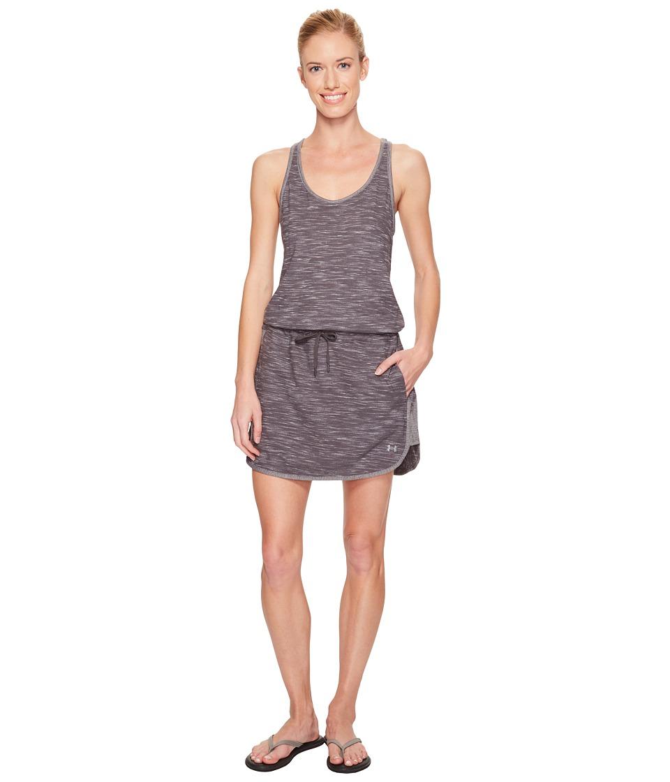 Under Armour Fashlete Dress (Carbon Heather/Carbon Heather) Women